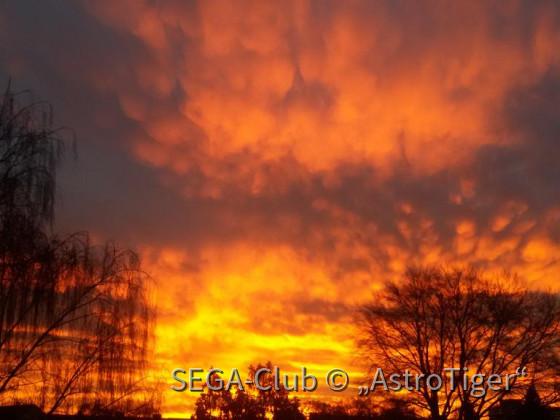 Sonnenuntergang Dezember 2016